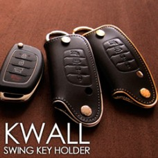 AEGIS SMART KEY LEATHER KEY HOLDER FOR HYUNDAI GRANDEUR HG / AZERA  2012-15 MNR