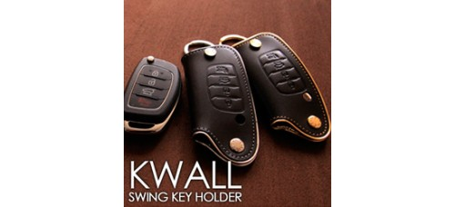 AEGIS HYUNDAI 5G GRANDEUR HG - KWALL SMART KEY LEATHER KEY HOLDER (4 BUTTONS)
