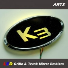 ARTX KIA K3 - LED MIRROR TUNING EMBLEM SET
