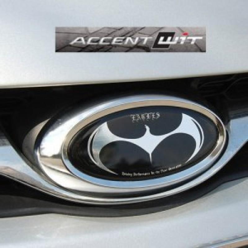 Artx Hyundai New Accent Eagles Tuning Emblem Set Item Eagles Tuning Emblemfor 2011 2013