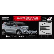 AUTOCLOVER SMOKED DOOR VISOR SET FOR HYUNDAI SANTA FE 2012-15 MNR