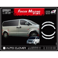 AUTOCLOVER FENDER MOLDING_C SET FOR HYUNDAI GRAND STAREX 2009-15 MNR