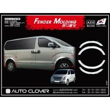AUTOCLOVER FENDER MOLDING_C SET FOR HYUNDAI GRAND STAREX 2009-15 MNR
