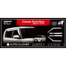 AUTOCLOVER CHROME DOOR  VISOR SET FOR KIA SOUL 2008-12 MNR