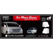 AUTOCLOVER SIDE MIRROR GARNISH SET FOR HYUNDAI GRAND STAREX 2007-15 MNR