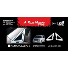 AUTOCLOVER A PILLAR MOLDING SET FOR GRAND STAREX 2007-15 MNR