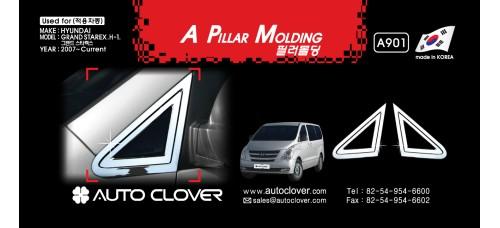 AUTOCLOVER WINDOW ACCENT SET FOR HYUNDAI GRAND STAREX 2007-15 MNR