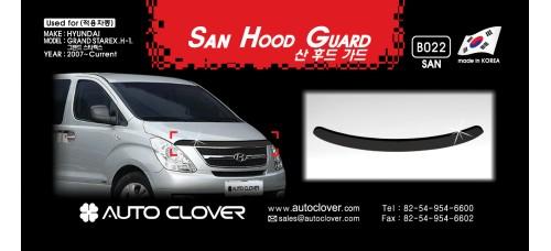 AUTOCLOVER SAN HOOD GUARD SET –  GRAND STAREX 2009-15 MNR