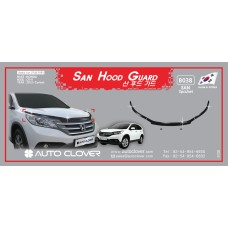 AUTOCLOVER SAN HOOD GUARD SET FOR HONDA CRV 2012-15 MNR