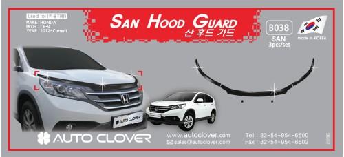 AUTOCLOVER SAN HOOD GUARD SET FOR HONDA CRV 2012-15 MNR