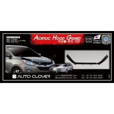 AUTOCLOVER ACRYLIC HOOD GUARD FOR HYUNDAI TUCSON IX35 2009-15 MNR
