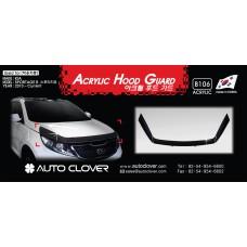 AUTOCLOVER ACRYLIC HOOD GUARD SET FOR KIA SPORTAGE R 2010-15 MNR