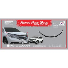 AUTOCLOVER ACRYLIC HOOD GUARD SET FOR HONDA CRV 2012-15 MNR