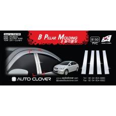 AUTOCLOVER PVC PILLAR MOLDING SET FOR HYUNDAI ACCENT 2011-15 MNR