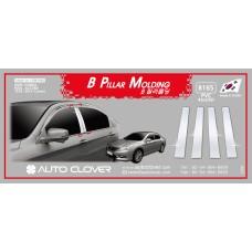 AUTOCLOVER PVC PILLAR MOLDING SET FOR HONDA ACCORD 2012-15 MNR