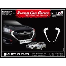 AUTOCLOVER RADIATOR GRILL GARNISH FOR HYUNDAI TUCSON IX35 2009-15 MNR