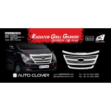 AUTOCLOVER RADIATOR GRILL GARNISH SET FOR GRAND STAREX / ILOAD 2007-15 MNR