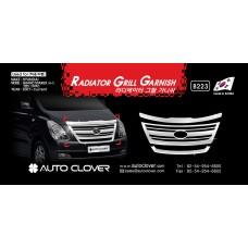 AUTOCLOVER RADIATOR GRILL GARNISH SET FOR GRAND STAREX / ILOAD 2007-15 MNR