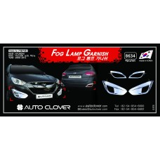 AUTOCLOVER FOG LAMP GARNISH SET FOR TUCSON IX35 2009-15 MNR