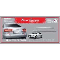 AUTOCLOVER TRUNK GARNISH SET FOR AUDI A6 2011-15 MNR