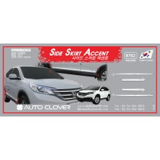 AUTOCLOVER SIDE SKIRT ACCENT SET FOR HONDA CRV 2012-15 MNR