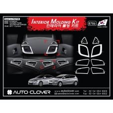 AUTOCLOVER INTERIOR  MOLDING KIT SET FOR HYUNDAI ACCENT / SOLARIS 2011-15 MNR