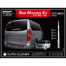 AUTOCLOVER REAR MOLDING KIT SET FOR HYUNDAI GRAND STAREX 2007-15 MNR