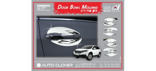 AUTOCLOVER DOOR BOWL MOLDING SET FOR HONDA CRV 2012-15 MNR