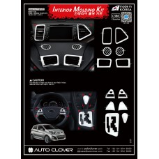 AUTOCLOVER INTERIOR MOLDING KIT SET FOR KIA PICANTO 2011-14 MNR