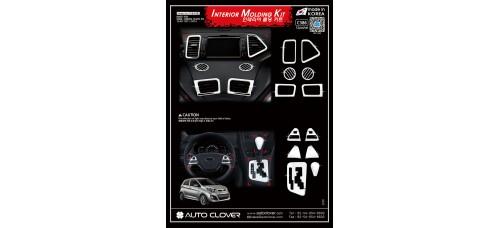 AUTOCLOVER INTERIOR MOLDING KIT SET FOR KIA PICANTO 2011-14 MNR
