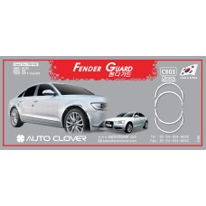 AUTOCLOVER FENDER GUARD_CH SET FOR AUDI A6 2011-15 MNR