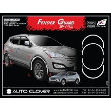 AUTOCLOVER FENDER GUARD_C SET FOR HYUNDAI SANTA FE 2012-15 MNR