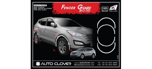 AUTOCLOVER FENDER GUARD_C SET FOR HYUNDAI SANTA FE 2012-15 MNR