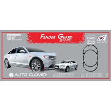 AUTOCLOVER FENDER GUARD_C SET FOR AUDI A6 2011-15 MNR