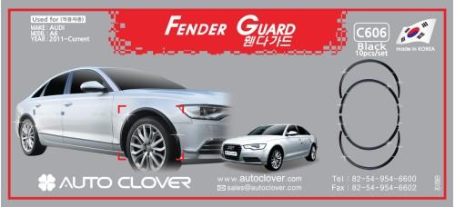AUTOCLOVER FENDER GUARD_C SET FOR AUDI A6 2011-15 MNR