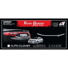 AUTOCLOVER TRUNK GARNISH SET FOR HYUNDAI GRANDEUR HG 2011-15 MNR