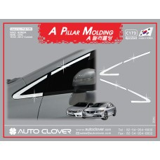 AUTOCLOVER A PILLAR MOLDING SET FOR HONDA CIVIC 2012 MNR