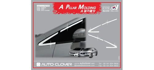 AUTOCLOVER A PILLAR MOLDING SET FOR HONDA CIVIC 2012 MNR
