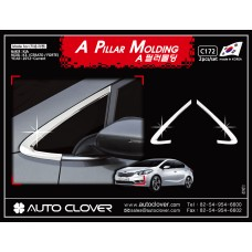 AUTOCLOVER A PILLAR MOLDING SET FOR KIA K3 CERATO 2012-15 MNR