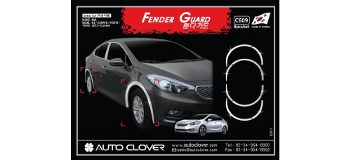 AUTOCLOVER FENDER GUARD_C SET FOR KIA K3 CERATO 2012-15 MNR