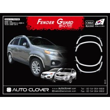 AUTOCLOVER FENDER GUARD_C SET FOR KIA SORENTO R 2012-14 MNR