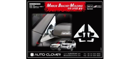 AUTOCLOVER MIRROR BRACKET MOLDING FOR KIA SORENTO R 2012-13 MNR