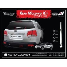 AUTOCLOVER REAR MOLDING KIT SET FOR KIA SORENTO R 2012-13 MNR