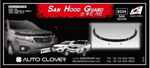 AUTOCLOVER SAN HOOD GUARD FOR KIA SORENTO R 2012-13 MNR