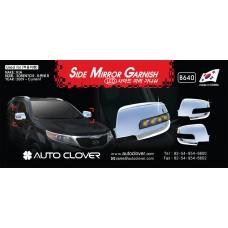 AUTOCLOVER SIDE MIRROR GARNISH FOR KIA SORENTO R 2012-13 MNR