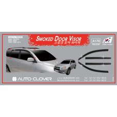 AUTOCLOVER SMOKED DOOR VISOR  SET FOR TOYOTA RAV4 2006-12 MNR