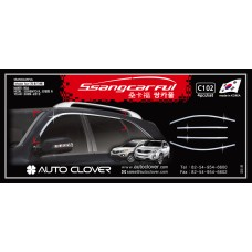 AUTOCLOVER SSANGCARFUL SET FOR KIA SORENTO R  2012-13 MNR