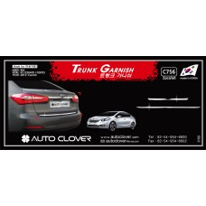 AUTOCLOVER TRUNK GARNISH SET FOR KIA K3 CERATO 2012-15 MNR