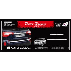 AUTOCLOVER TRUNK GARNISH SET FOR KIA SORENTO R 2012-13 MNR
