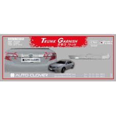 AUTOCLOVER TRUNK GARNISH SET FOR TOYOTA CAMRY 2012-14 MNR